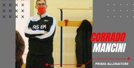 Mister Mancini confermato alla guida della serie C maschile