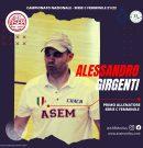 Alessandro Girgenti confermato alla guida della serie C femminile